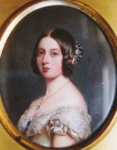 Queen Victoria, William Essex, 1843. The Royal Collection