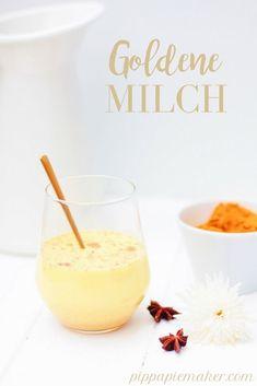 Goldene Milch schmec