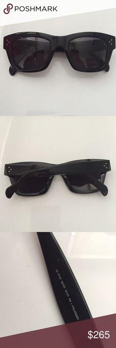 Celine wayfarer polarized sunglasses Gently worn, good condition. Classic style. No trades. Celine Accessories Sunglasses