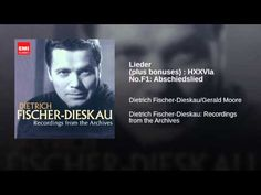 Lieder (plus bonuses) : HXXVIa No.F1: Abschiedslied