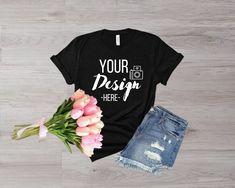 Romantic Woman, Image Digital, T Shirt Image, Woman Illustration, Blank T Shirts, Shirt Mockup, Photo Editor, Bella Canvas, Long Sleeve Shirts