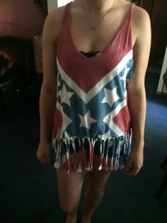Rebel flag shirt