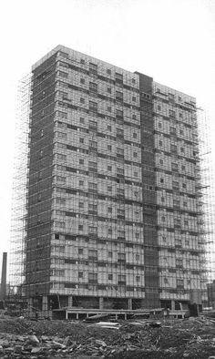 Alexander st multi being built