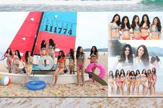 "Miss Thailand World 2016 beauties ""Shine On The Beach"""