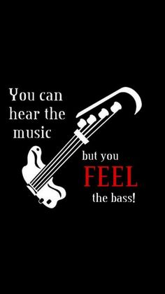 Bass guitar frequencies roll through your soul www.bassguitarlife.com