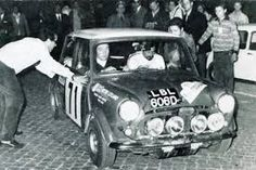 1968 TAP rally 2nd placed car driven by Hopkirk / Nash