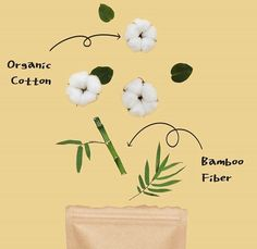 Organic Cotton + Bamboo Fiber | CYCLEAN  are Comfy, Easy, Healthy, Soft and Safe! Organic Cotton, Bamboo, Fiber, Underwear, Place Card Holders, Comfy, Healthy, Easy, Fabric