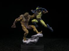 Sabertooth vs Wolverine