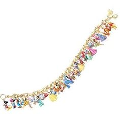 Gold Plated Ultimate Disney Classic Charm Bracelet Featuring 37 Disney Characters By the Bradford Exchange >>> Very kind of you to have dropped by to view our picture. (This is an affiliate link) Disney Mode, Gif Disney, Arte Disney, Disney And Dreamworks, Disney Magic, Disney Pixar, Disney Characters, Disney Facts, Disney Land