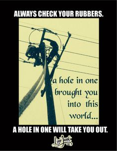 Nothing is so important than your own Saftey. Nobody will do it for you. Remember that!!
