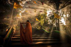 Photograph Buddha 's Light by chaisit rattanachusri on 500px
