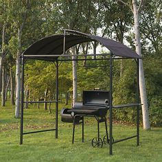 Metal-Gazebo-Marquee-BBQ-Tent-Garden-Patio-Smoking-Grill-Canopy-Awning-Shelter