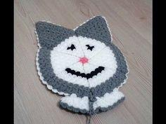 Knit Crochet, Crochet Hats, Crochet Videos, Beanie, Knitting, Stuff To Buy, Youtube, Roses, Amigurumi