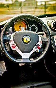 (Ferrari 458 Italia Interior)