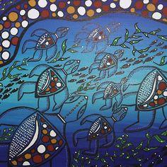 Aboriginal Turtle Journey