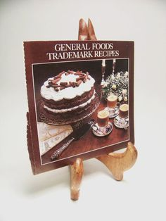"Vintage Recipe Booklet ""General Foods Trademark Recipes"""