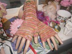 Fingerless mitts by jfaypaperdolls on Etsy
