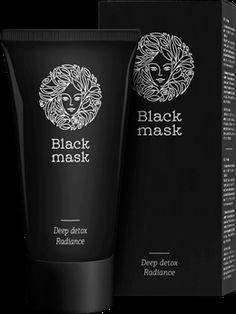 Masca tratament împotriva punctelor negre și a coșurilor Black Mask