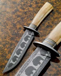 timelesswoodshop:  Awesome mosaic damascus knife. Kirk Rexroat, ABS Master Knifemaker