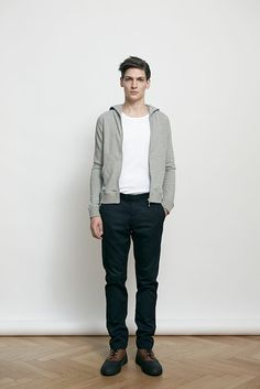 Armoire d´homme Debut Collection for Fall Winter 2013: The Danish menswear collection remains true to clean Scandinavian men's fashion by presenting looks that are more than wearable by all.