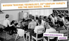 If you're ready to move past the Old School, sign up to find out what's new from Mimio, coming late January! Visit www.mimio.com/oldschool to sign up.