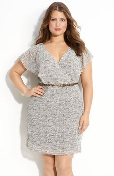 i love this dress. pair it with tights and you're in business  #plussize