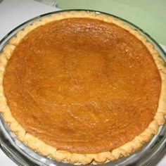 Sweet Potato Pie (using Canned Sweet Potatoes or Yams) Recipe by LAC936 via @SparkPeople