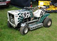 Racing Mower !