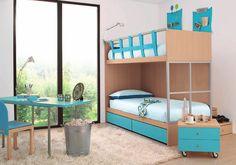 Interactive Interiors: Convertible Kids Bedroom Furniture
