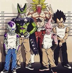 Imagen de dragon ball z, cell, and freezer
