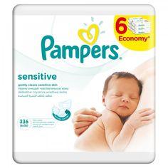 Pampers Chusteczki pielęgnacyjne Sensitive 6x56 szt. (336 szt.) | MALL.PL