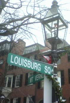 Ah, Louisburg Square. So many distinctions: the largest patch of greenspace on the Hill, the oldest homeowners association in America, the most expensive ...