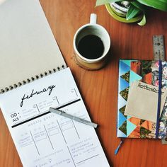 New week = new action plan ☕️📋 love seeing the month broken down this way. Weekly Goals, New Week, Action, How To Plan, Tableware, Creative, Etsy, Group Action, Dinnerware
