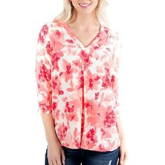 Jane.com - Seeds to Sew Tulip Garden Blouse Clearance - AdoreWe.com