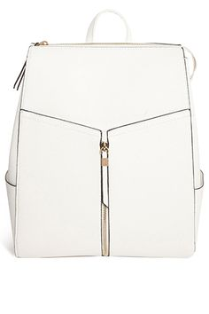15 Work Bags That Will Always Have Your Back #refinery29 New Look Xhatch Structured Backpack