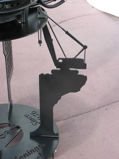 Crane themed DISC-IT #discada #discitgrill #DISC-IT #cowboywok #mexicanwok #texaswok #crane