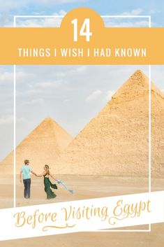 14 Things I Wish I had Known Before Visiting Egypt! If you're headed to Egypt and have questions about safety, what to wear, or what to expect when you visit make sure you check out this post by the Wandering Wheatleys! (@wanderingwheatleys) #egypt #middleeast #africa #travelguide #pyramids #giza