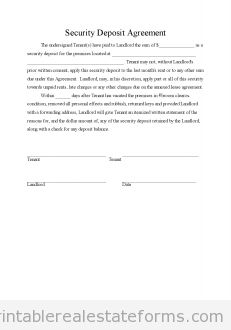 Free Escrow agreement Printable Real Estate Forms | Printable Real ...