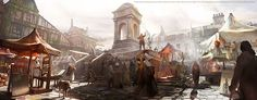 Assassin's Creed : Unity Concept Art on Behance