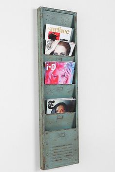 Magazine Holder.