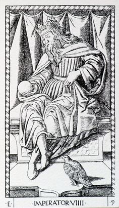 IV Imperator |Tarocco Vieville