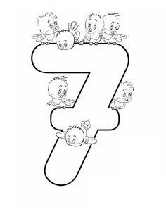 Preschool Number Worksheets, Numbers Preschool, Preschool Learning Activities, Learning Numbers, Infant Activities, Kindergarten Math, Preschool Activities, Disney Cross Stitch Patterns, Cross Stitch For Kids