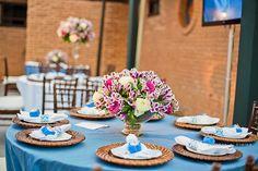 decoração - detalhes - mesa dos convidados - sousplat - porta guardanapo - centro de mesa - arranjo