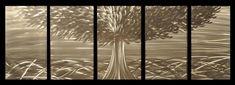 Natural Metal Tree Wall Art Decoration Ideas: Metal Tree Wall Art Products