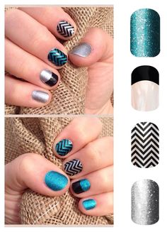 I absolutely live this combination. Jamberry allows you to be very creative!  Http://JulieP.jamberrynails.net