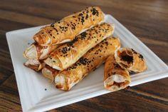 Sigara Börek / Sarma Börek aus dem Ofen