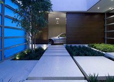 #modern #house #entrance