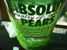 Absolut Pears !!