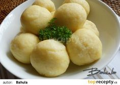 Jemné bramborové knedlíky recept - TopRecepty.cz
