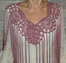 Resultado de imagen de mantoncillos de flamenca de crochet paso a paso